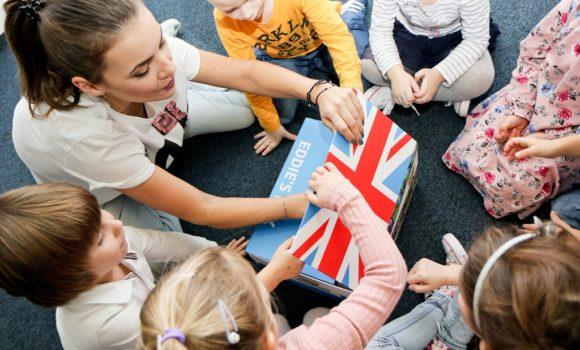 Teddy Eddie Start angielski dla dzieci 2-3 lata